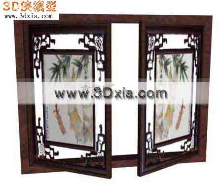 中式窗户图片_欧式门图片