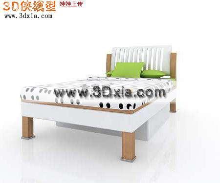 常用的3d儿童床模型
