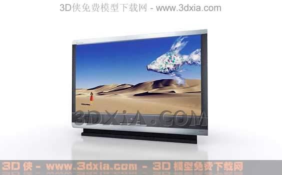 电视机-版本3dmax8-24
