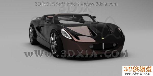 汽车-3dmax2008-lotus