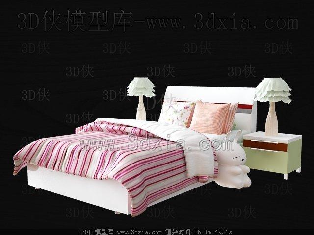 儿童床3d模型-版本2009-121