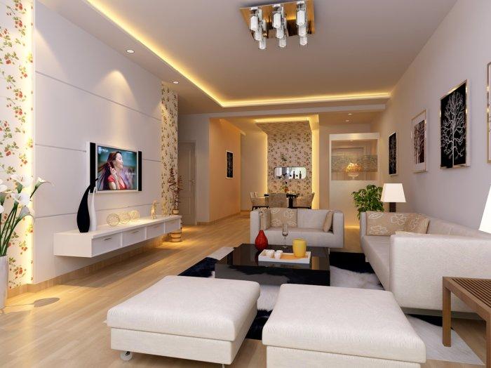 现代家居客厅装修设计效果图