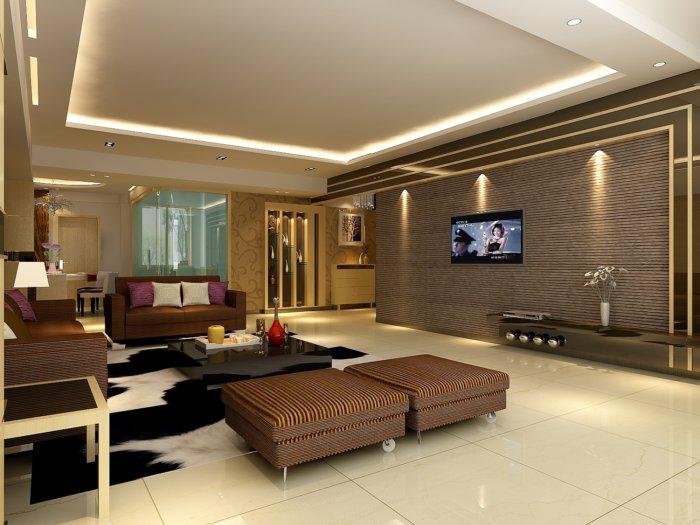 2013家装客厅装修设计图片渲染效果图片